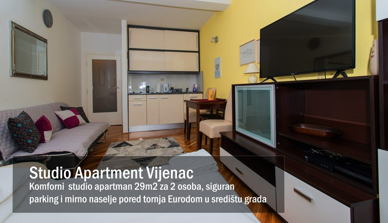 Studio Apartman u Osijeku Vijenac 29m2